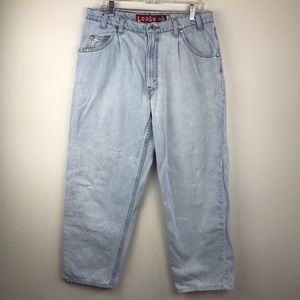 VTG USA Made 90's LEVI'S Silver Tab Light Wash